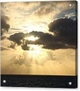 Gold Coast Sunrise Acrylic Print
