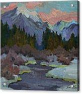 Gold Creek Snoqualmie Pass Acrylic Print