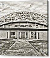 Gold Dome Acrylic Print