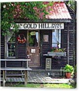 Gold Hill Post Office Acrylic Print