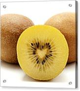 Gold Kiwifruit Acrylic Print