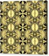Gold Metallic 16 Acrylic Print