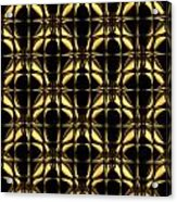 Gold Metallic 8 Acrylic Print