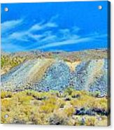 Gold Mine Tailings Acrylic Print