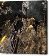 Golden Age Of Sci Fi Acrylic Print