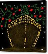 Golden Apple Ship Acrylic Print