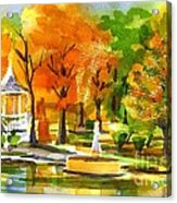 Golden Autumn Day 2 Acrylic Print