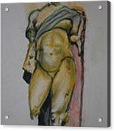 Golden Boy Acrylic Print