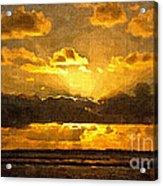 Golden Dawn - Canvas Acrylic Print