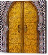 Golden Door Acrylic Print