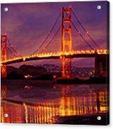 Golden Gate At Bakers Beach Acrylic Print