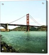 Golden Gate Bridge 2.0 Acrylic Print by Michelle Calkins