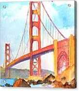 Golden Gate Bridge 3 Acrylic Print