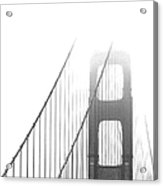 Golden Gate Bridge Acrylic Print by Ben and Raisa Gertsberg