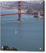 Golden Gate Bridge Acrylic Print by Jenna Szerlag