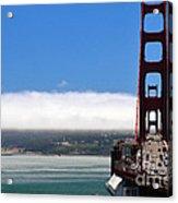 Golden Gate Bridge Looking South Acrylic Print