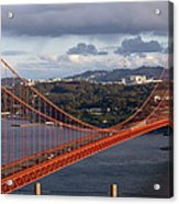 Golden Gate Bridge Overlook Acrylic Print