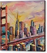 Golden Gate Bridge - San Francisco Acrylic Print