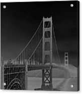 Golden Gate Bridge To Sausalito Acrylic Print