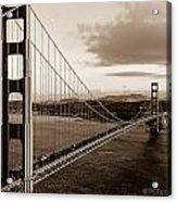 Golden Gate Glory Acrylic Print
