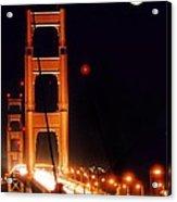 Golden Gate Night Acrylic Print