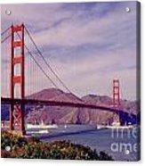Golden Gate San Francisco Acrylic Print