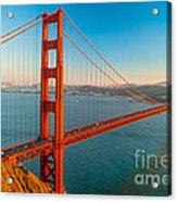 Golden Gate - San Francisco Acrylic Print