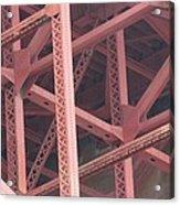 Golden Gate's Skeleton Acrylic Print