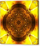 Golden Harmony - 2 Acrylic Print
