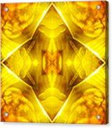 Golden Harmony  Acrylic Print