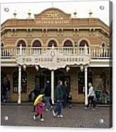Golden Horseshoe Frontierland Disneyland Acrylic Print