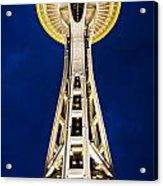 Golden Hour Tower Acrylic Print