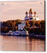 Golden Hour. Yaroslavl. Russia Acrylic Print