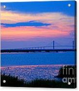 Golden Isles Bridge Acrylic Print