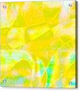 Golden Music Acrylic Print