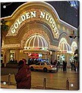 Golden Nugget Acrylic Print