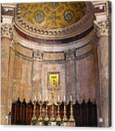 Golden Pantheon Altar Acrylic Print