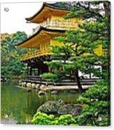 Golden Pavilion - Kyoto Acrylic Print