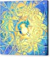 Golden Reflection Acrylic Print
