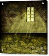 Golden Room Acrylic Print