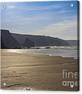 Golden Sands Acrylic Print