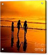 Golden Sands  Acrylic Print