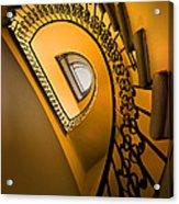 Golden Staircase Acrylic Print
