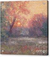 Golden Sunrise - June Acrylic Print