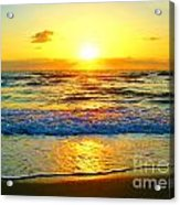 Golden Surprise Sunrise Acrylic Print