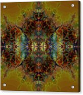Golden Tapestry Acrylic Print