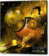Golden Things Acrylic Print by Franziskus Pfleghart