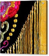 Golden Threads Acrylic Print
