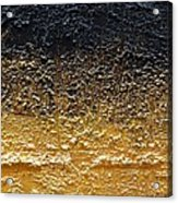 Golden Time - Abstract Acrylic Print by Ismeta Gruenwald