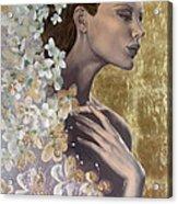 Golden Wind Acrylic Print